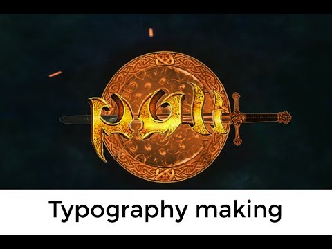PULI Movie Typography In Photoshop Make It Easy
