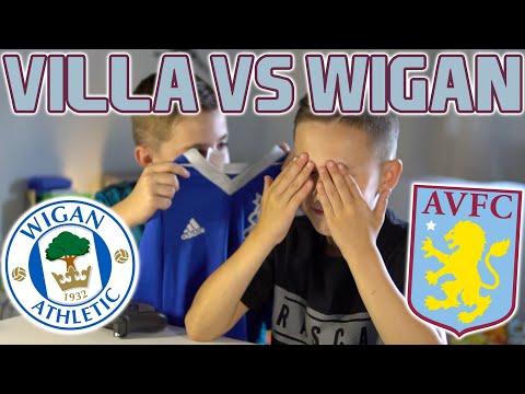 ASTON VILLA VS WIGAN | FIFA SCORE PREDICTOR!