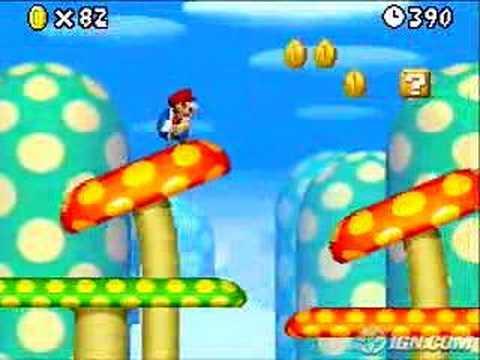 Squishy Duck Super Mario Maker 4 : Super New Mario Bros - Nintendo DS (IGN.com) - YouTube