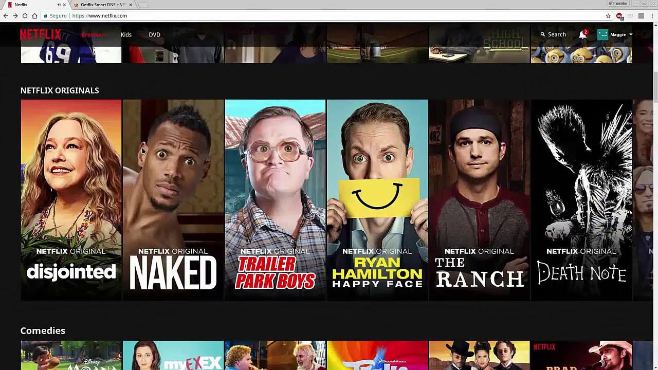 Ver Contenido Estadounidense y Otros Países en Netflix Sin Usar Vpn Ni  Programas | Getflix
