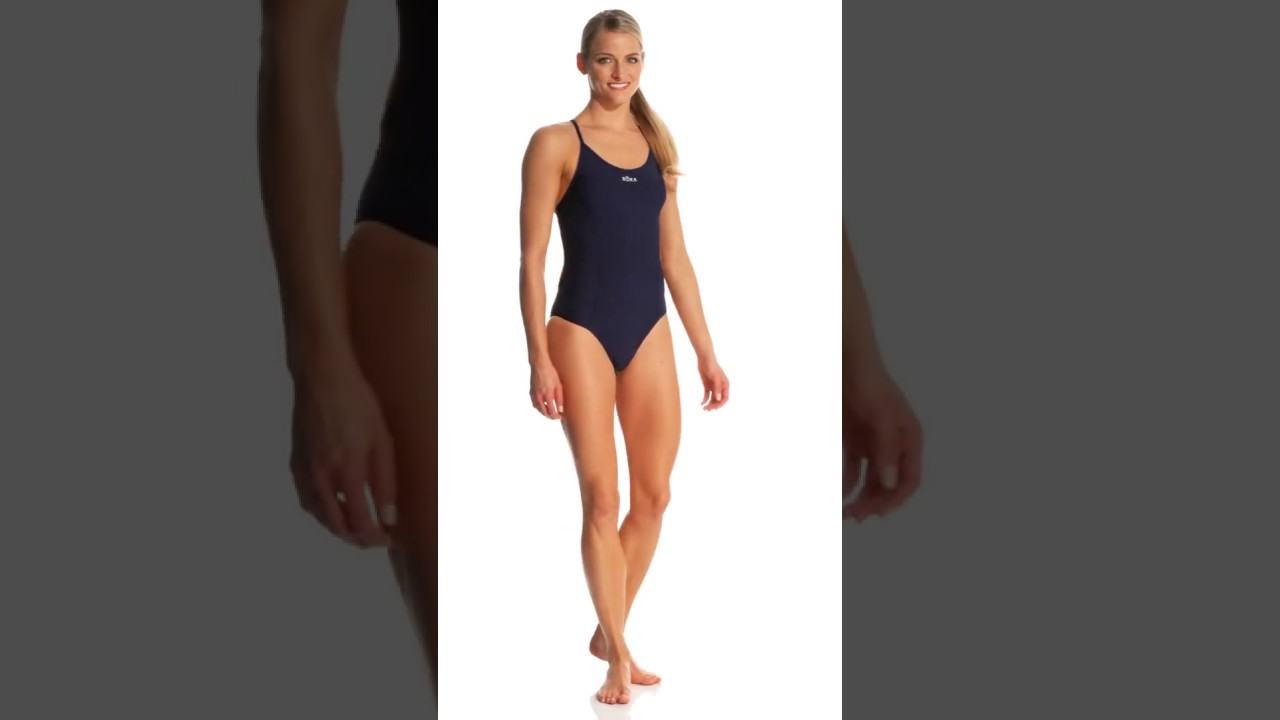 69747695c7 ROKA Sports Women s Elite 1-piece Triangle Back Swimsuit ...