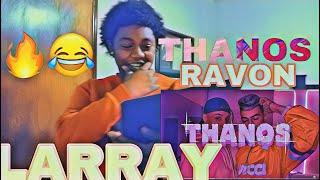 LARRAY - THANOS (OFFICIAL MUSIC VIDEO) ft. RAVON | REACTION