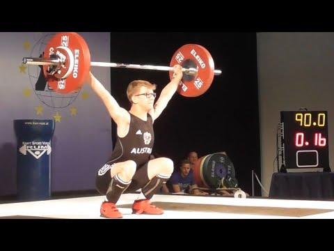 Lukas Schäffer - U17 male - 2018 EU Weightlifting Cup - Innsbruck / AUT