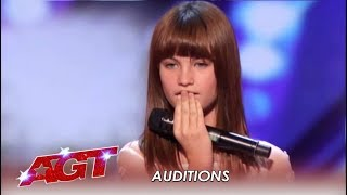 Download Charlotte Summers: 13-Year-Old Girl's Voice Will BLOW You Away! | America's Got Talent 2019 Mp3 and Videos