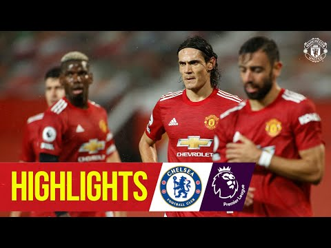 Highlights | Manchester United 0-0 Chelsea | Premier League | Cavani makes Reds debut