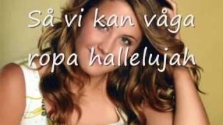 molly sanden hallelujah with lyrics
