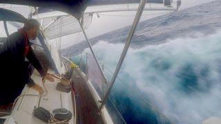 Atlantic Crossing Pt1 - We Broke the Genoa