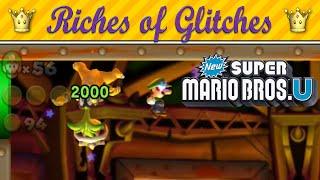Riches of Glitches in New Super Mario Bros. U (Glitch Compilation)