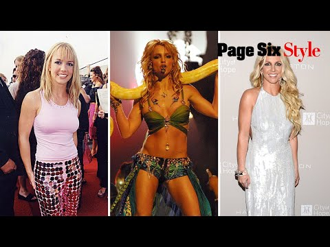 Britney Spears and her style have come a long way