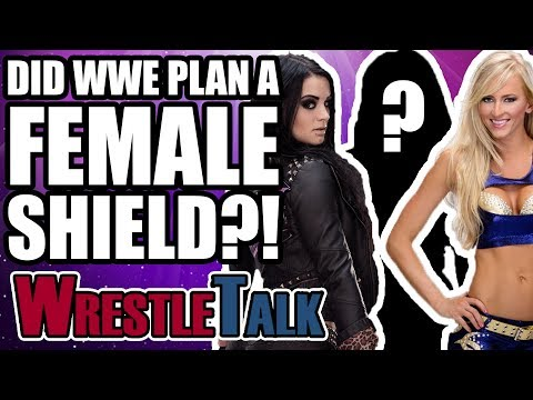 Did WWE Plan An All-Female Shield With Paige In 2013?!