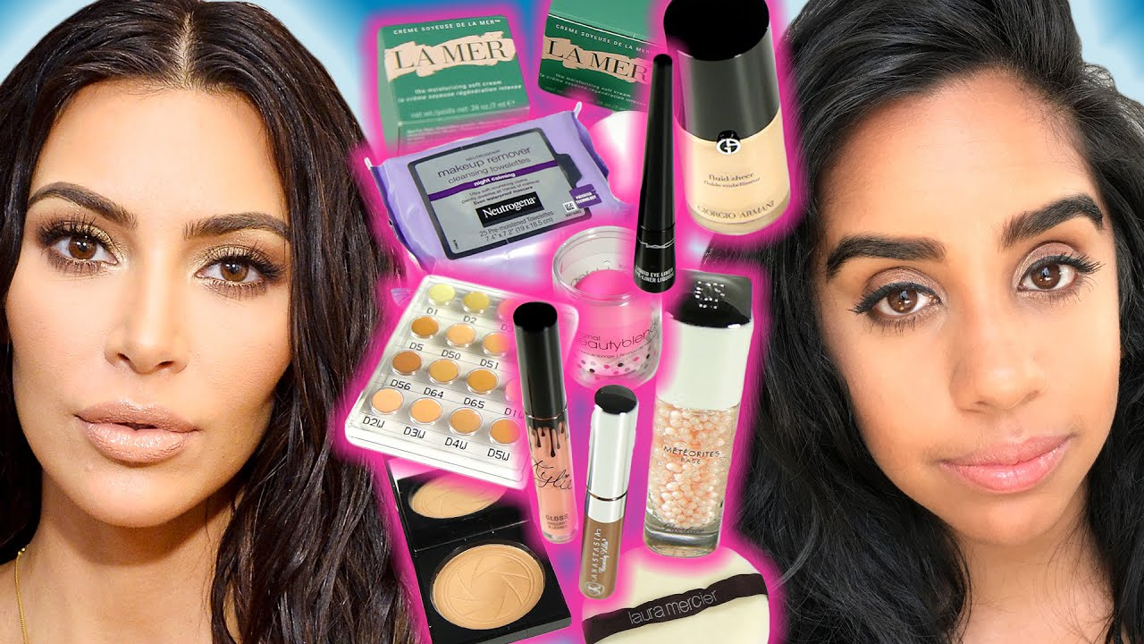 Kim Kardashians Makeup Routine Is Everything You Hoped for and More