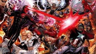 Captain America Vs Cyclops / EPIC DEATH BATTLE!!!