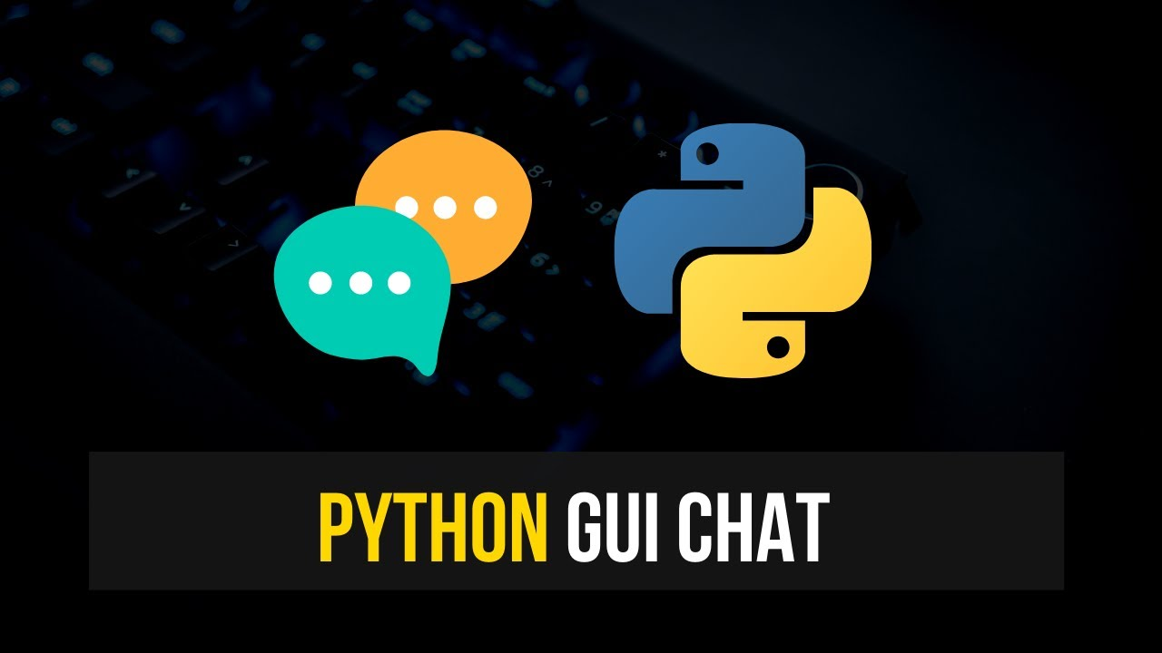 Simple GUI Chat in Python