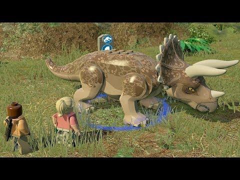 Lego Jurassic World 8.Лечение Трицератопса.Мультики Динозавры.Лего Мир Юрского Периода.#Lego