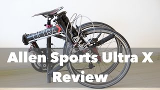 Allen Sports Ultra X Folding Bike Review