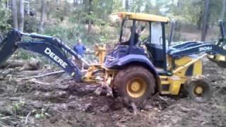 953 track loader stuck