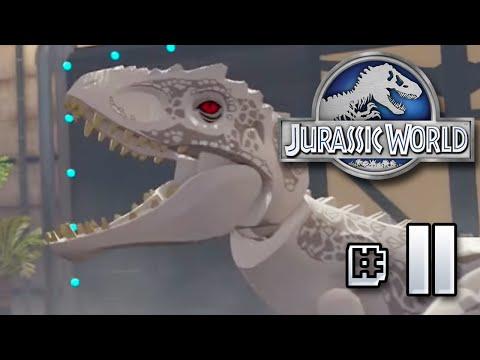 INDOMINUS REX!! Jurassic World LEGO Game - Ep11