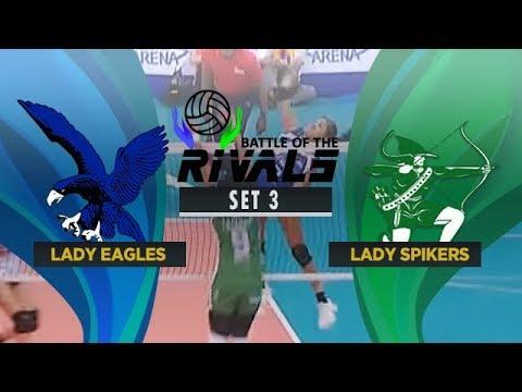 ADMU vs. DLSU | Full Game | 3rd Set | Battle of the Rivals