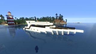 Minecraft TUTO Yacht / bateau de luxe