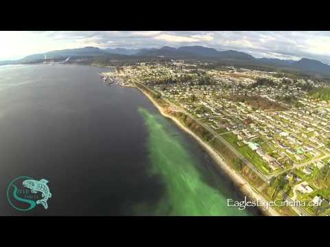 Drone Aerials; Herring Spawn in Powell River