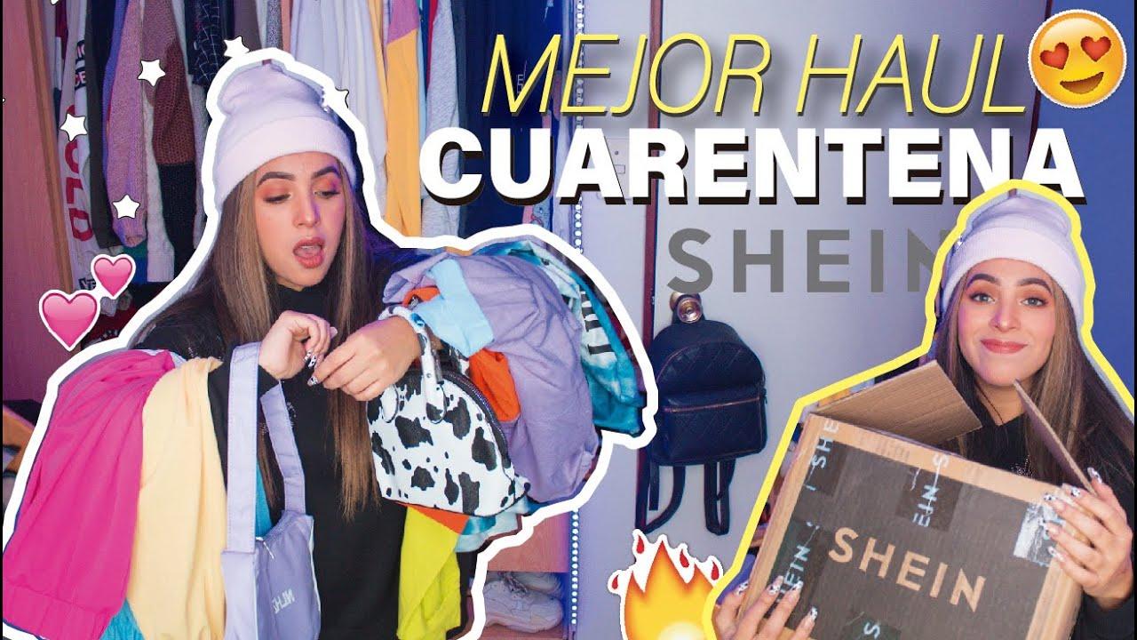 EL MEJOR HAUL DE SHEIN EN CUARENTENA!! FULL Ropa Urbana Comfy - CARTERITAS COOL ♥ Margot Valdez