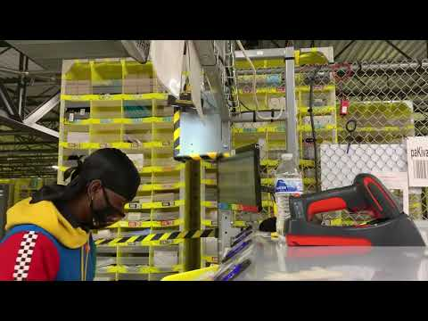Day in the life of an amazon warehouse stower (inside footage)