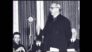 Dr. Ravasz László rádióbeszéde -  1956 november 1-