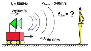 Physics - Mechanics: Sound and Sound Waves (18 of 47) Doppler Shift