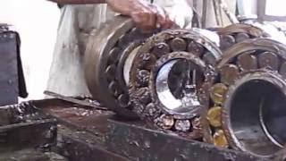 Cleaning of Bearings of ICF Bogie in the Workshops