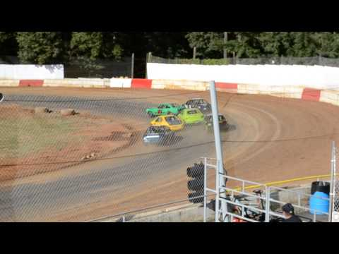 River City Speedway - St. Helen's Oregon 07/27/2013 4 Cylinder Heat 2