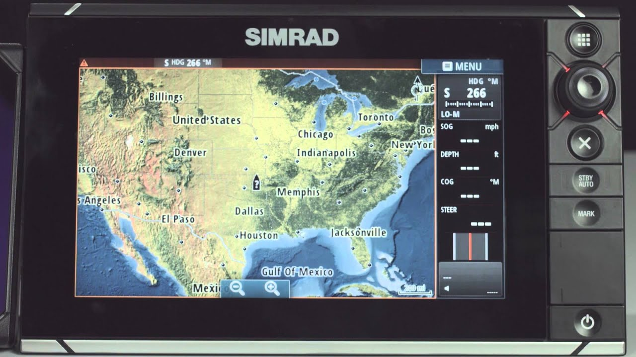 how to connect a simrad nss evo2 to wifi [ 1280 x 720 Pixel ]