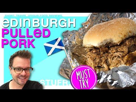 Edinburgh tips - eating pulled pork at Oink [ travel guide & food review ]