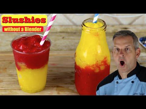 Easy Homemade Slushies