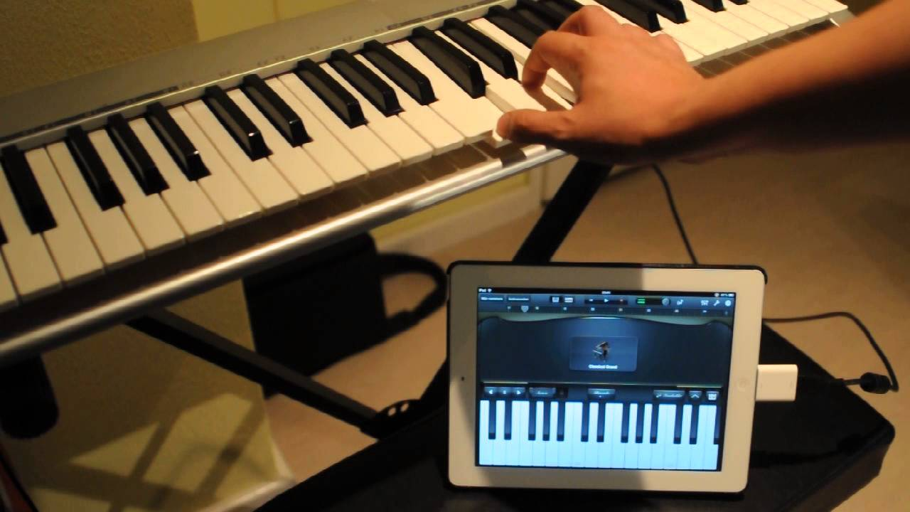 how to connect m audio keystation 49e with an ipad youtube. Black Bedroom Furniture Sets. Home Design Ideas