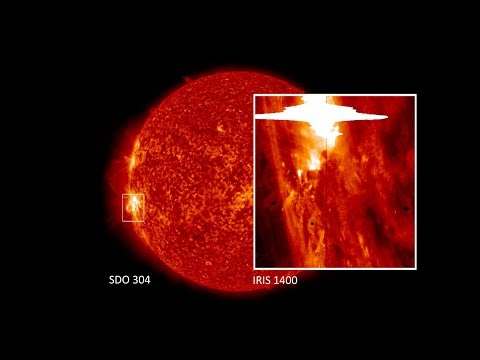 NASA | IRIS Spots Its Largest Solar Flare
