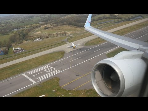 (4K) Thomson Airways Boeing 757-200 | Gatwick to Lanzarote | Flight Video - TOM4766
