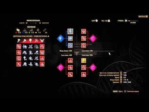 Ведьмак 3 - Советы по развитию персонажа и использованию эликсиров