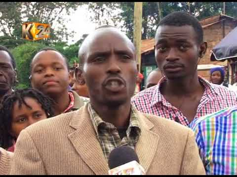 Kibiku residents protest 'unfair' compensation of land purchased for project