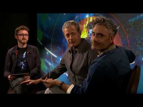 Facebook LIVE with Taika Waititi and Jeff Goldblum
