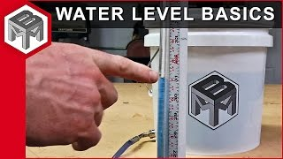 Water level basics – How to make and use one