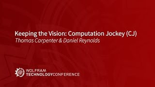 Keeping the Vision: Computation Jockey (CJ)