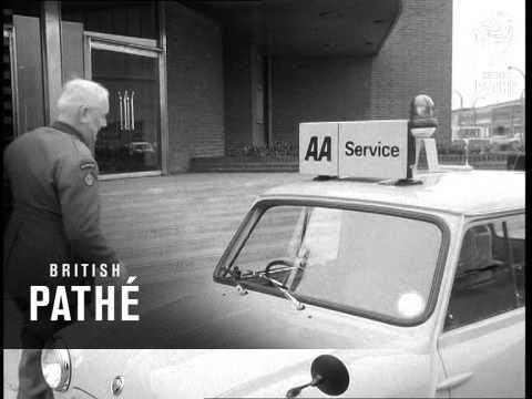 Longbridge - New Mini Vans For Aa Aa Change From Motorcycles To Vans (1968)