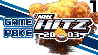 NHL Hitz 2003: PART 1 - Game Poke Faceoff