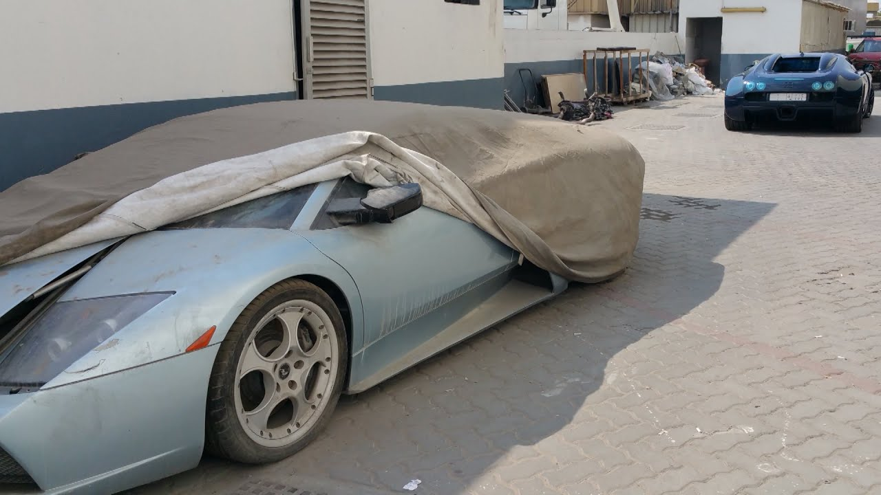 Abandoned Exotics & the Al Aweer Auto Market
