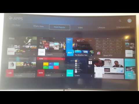 How to install apps on Samsung Smart TV 2016