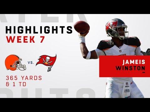 Jameis Winston's Big Game w/ 365 Yards vs. Browns