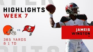 Jameis Winston's Big Game w/ 365 Yards vs. Browns