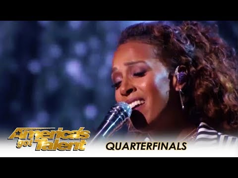 Glennis Grace: The Dutch Star Creates WOW Moment On AGT Live! | Americas Got Talent 2018