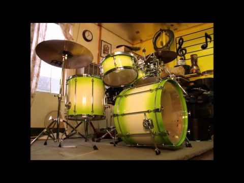 Refinishing drum sets..... Mapex, Camco, Sonor, Yamaha, Legend......