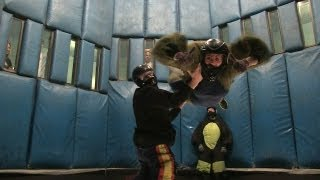All the Fun of Skydiving Without Jumping Out of a Plane - Vegas Indoor Skydiving